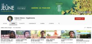 Fabien Moine - chaîne Youtube